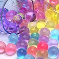 5000 pcs bolas de Água Hidrogel Bolas Crescendo, Contas de Cristal Pérolas de Gel de Água, Aqua Contas de Geléia de Crescer, a Água bolas de crescimento, o Solo de Cristal