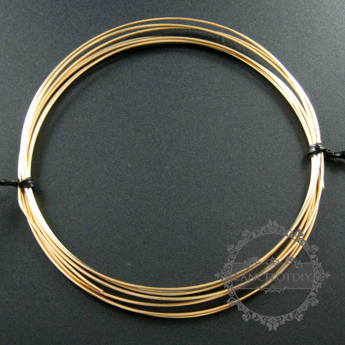 High quality light yellow gold semi soft wire 064mm081mm102mm 22gauge 064mm half hard gold filled high quality color not tarnished beading jewelry wire supplies keyboard keysfo Images