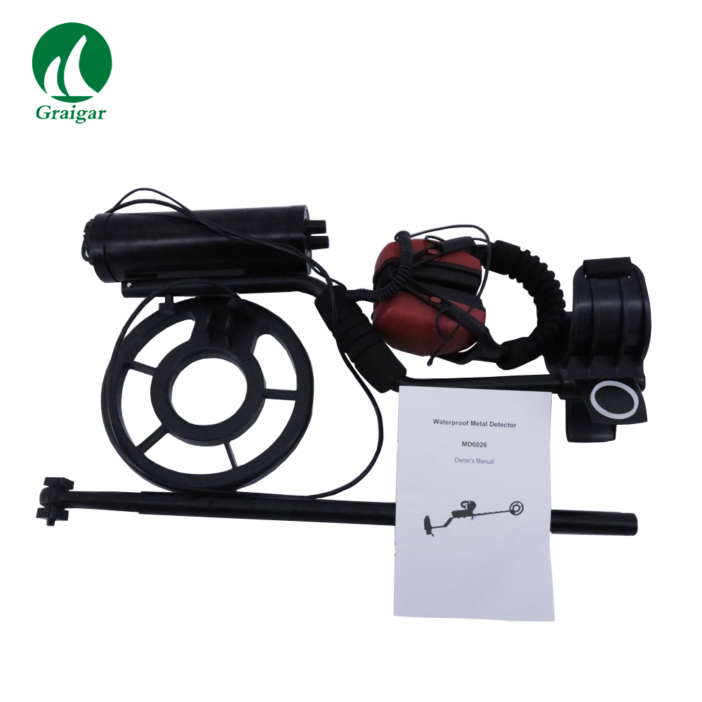 High Sensitivity Portable Metal Detector MD6026 with Good Waterproof Performance