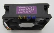 Original SUNON 6020 12V 0.6W GM1206PKV3-A R.B306.P projector cooling fan