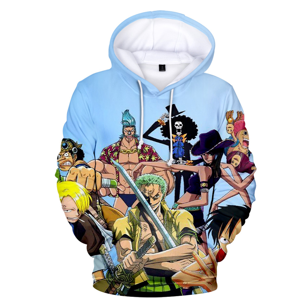 Image 3 - One piece Hoodies Luffy hot anime 3D Men's Sweatshirt 2019 Autumn Winter New Tops Men/Women Hooded High Quality Man Hoodies-in Hoodies & Sweatshirts from Men's Clothing