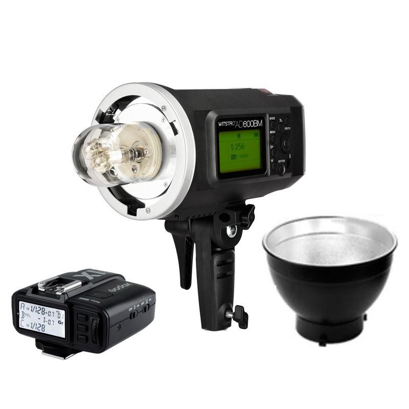 Godox Wistro AD600BM Manual Speedlite Flash Light 600WS HSS 2 4G 8700mAh Battery Trigger X1T for