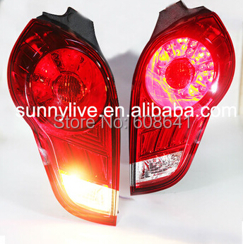 For CHEVROLET Spark LED Tail Light 2009 2011 Year WH