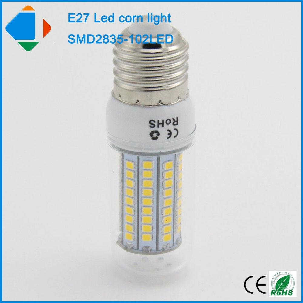 120 volt led night light circuit - Led Bulb E27 Smd 2835 102leds Ac 110 220 Volts Home Corn Lights High Quality 10w