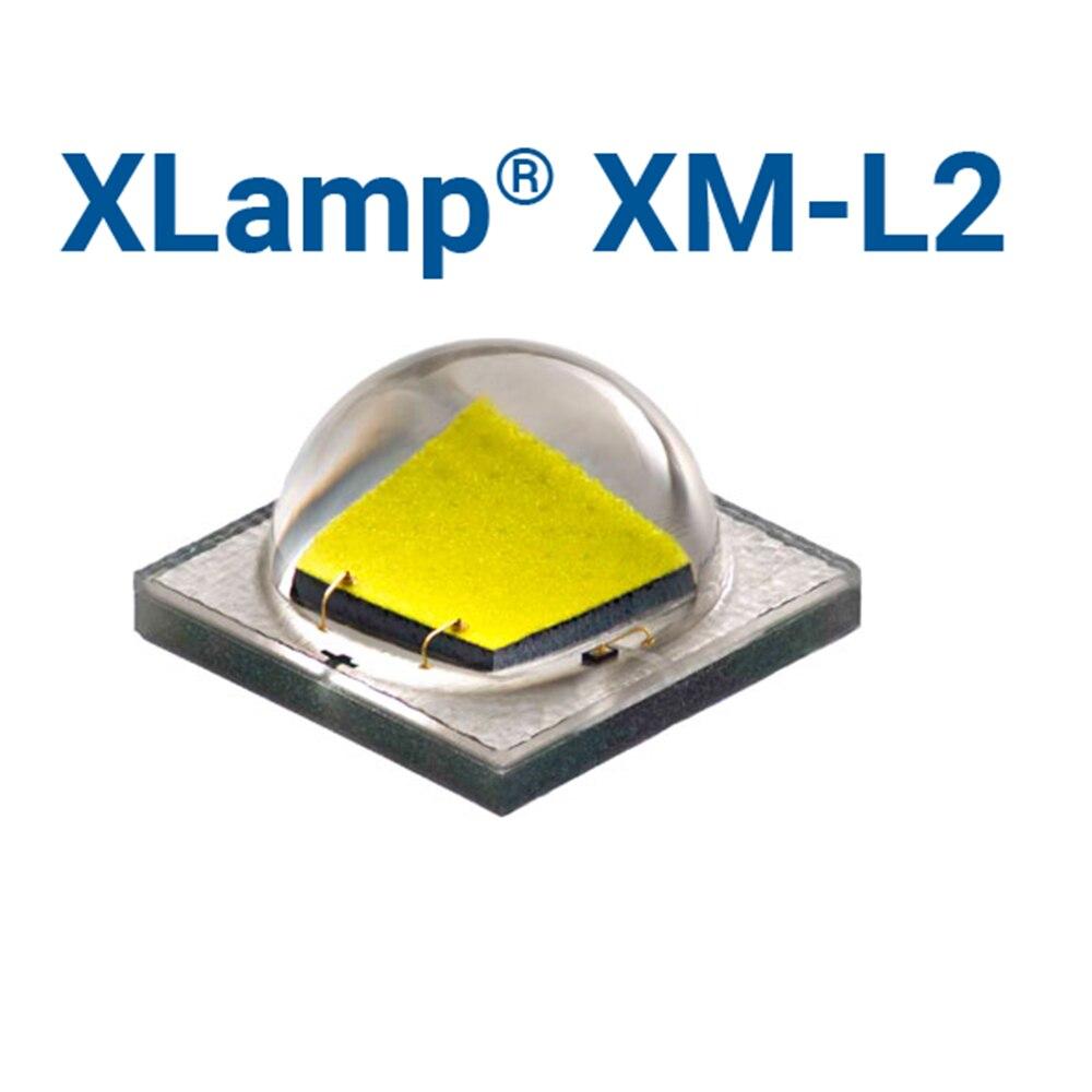 Cree xml2 XM-L2 t6 alta potência led emissor branco fresco branco neutro branco quente branco em 12mm 14mm 16mm 20mm preto/branco/cobre pcb