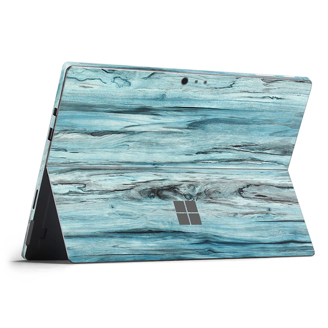 Para Micro Superfície Pro6 6 Volta Completa Decal adesivo da pele para a superfície pró Tablet notebook Adesivo de vinil para a superfície pró 6 skin-0529