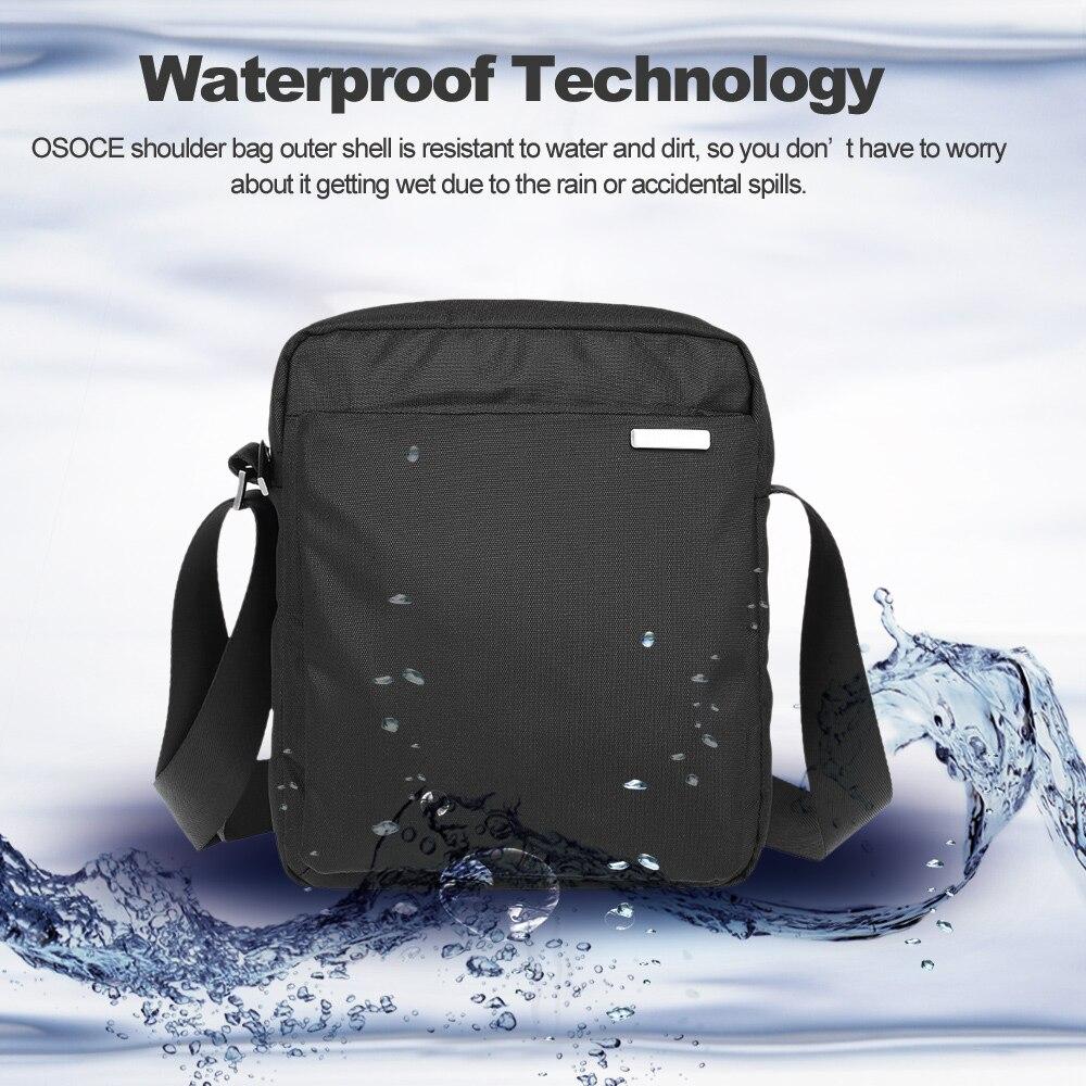 f3c9e0c36a42 2019 OSOCE Waterproof Shoulder Bag Shoulder Messenger Bag Carrying ...