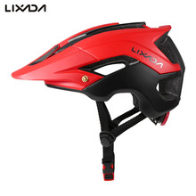 Lixada Bicycle Helmet Ultralight Cycling Helmet Casco Ciclismo Integrally-molded Bike Helmet Road Mountain MTB Helmet 56-62 cm