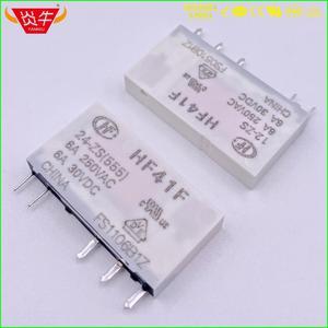 Image 1 - 41F HF41F Công Nghiệp Tiếp Subminiature Tiếp Điện HF41F 24 ZS HF41F 12 ZS HF41F 5 ZS HF41F 24V 12V 5V ZS 5PIN
