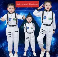2018 New Party Halloween Costume Boy Girl Astronaut Spaceman Costume Children S Day Clothing Jumpsuits