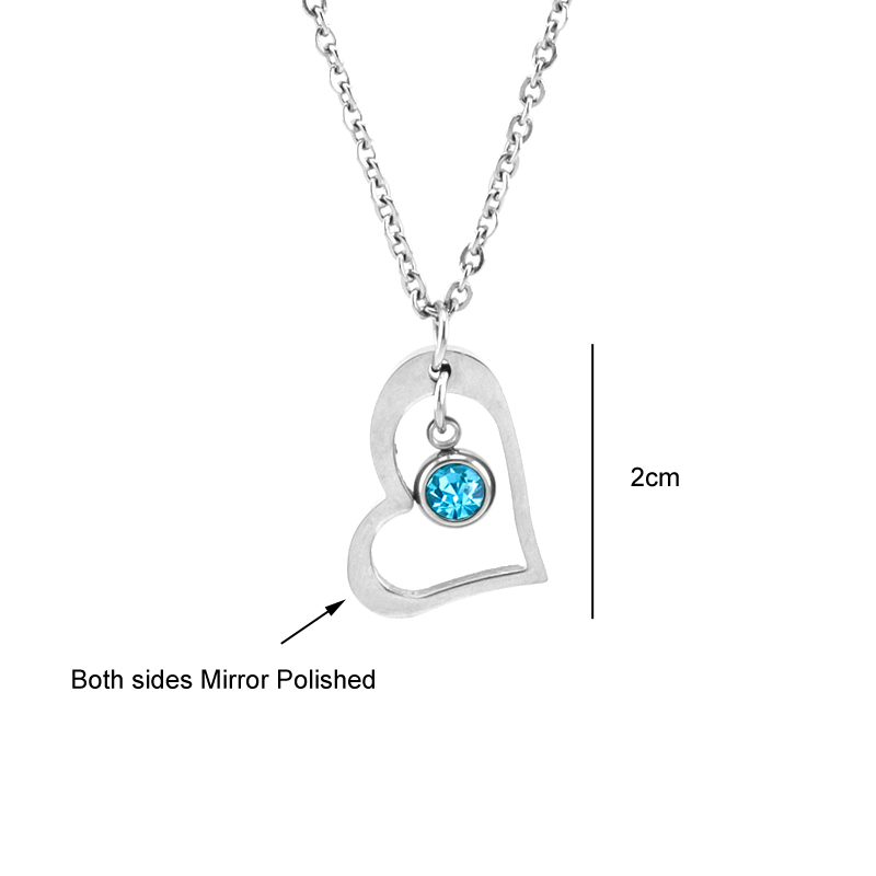 Risul-Female-Jewelry-birth-stone-in-Heart-Charm-Necklace-Rolo-chain-Stainless-steel-best-friend-beautiful (2)