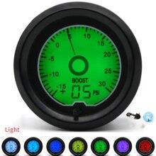 Car-Meter Turbo-Boost-Gauge Racing-Gauge Digital Display PSI Multiple-Colors 52mm LCD