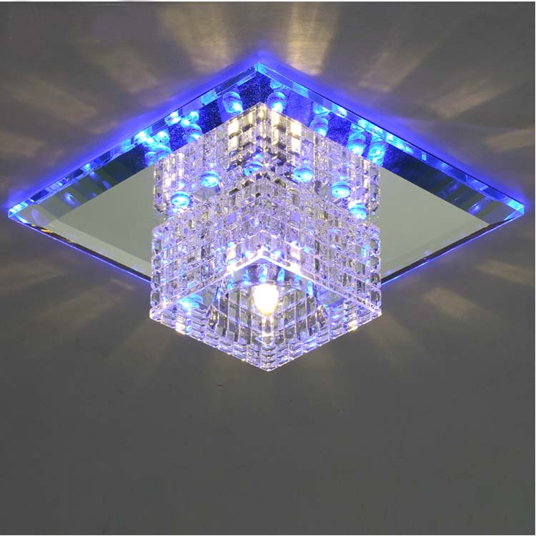 Aliexpress Com Buy Modern Flush Mount Crystal Light