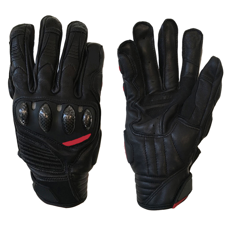 Motocross racing bike leather gloves, off-road mountain bike riding slip protection downhill ATV MTB MOTO carbon gloves.
