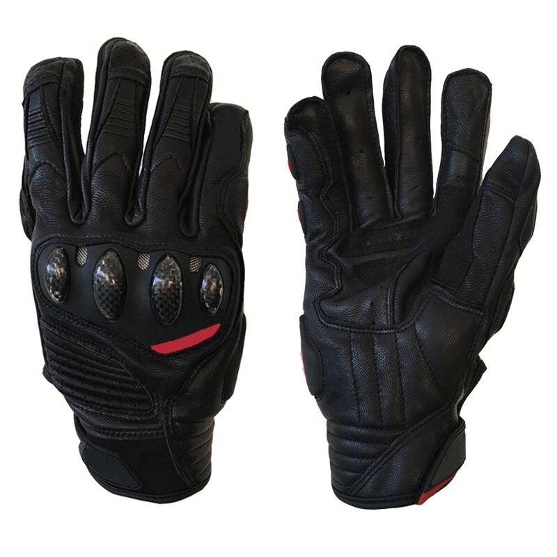 Motocross racing bike leather gloves, off-road mountain bike riding slip protection downhill ATV MTB MOTO carbon gloves.