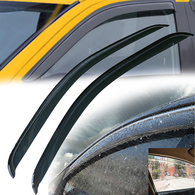 Sun Rain Guard Deflector 2 Pcs For Chevy Silverado Standard Cab 2008 2012  Car Door Window Wind Visor Moulding Awnings Shield In Awnings U0026 Shelters  From ...