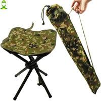 JSM exterior portátil plegable de camuflaje sillas de pesca de Picnic asiento de playa aparejos accesorios para camping