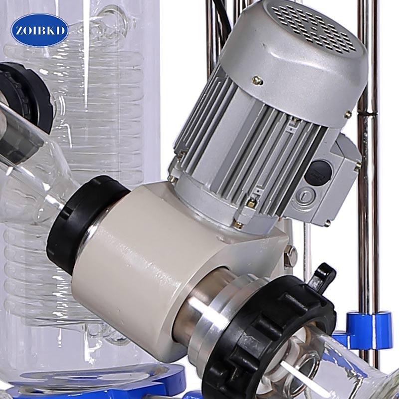 ZOIBKD Best Venditore Grande Volume 20LRotary RE2002 con Acqua Evaporatore Vasca Da Bagno, Set Completo di Oggetti di Vetro - 5