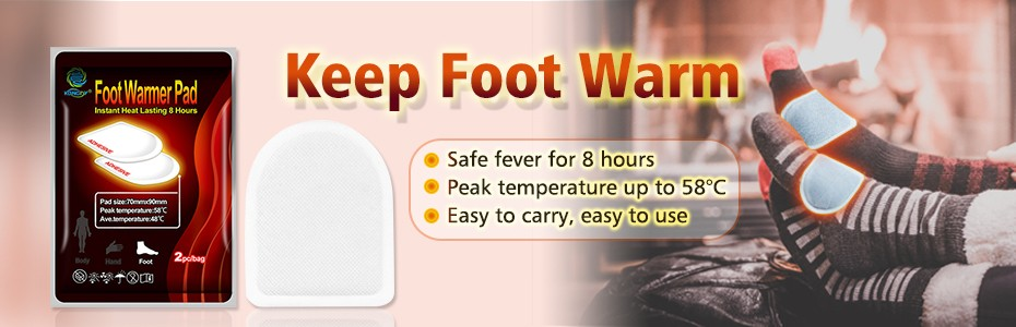 foot warm patch