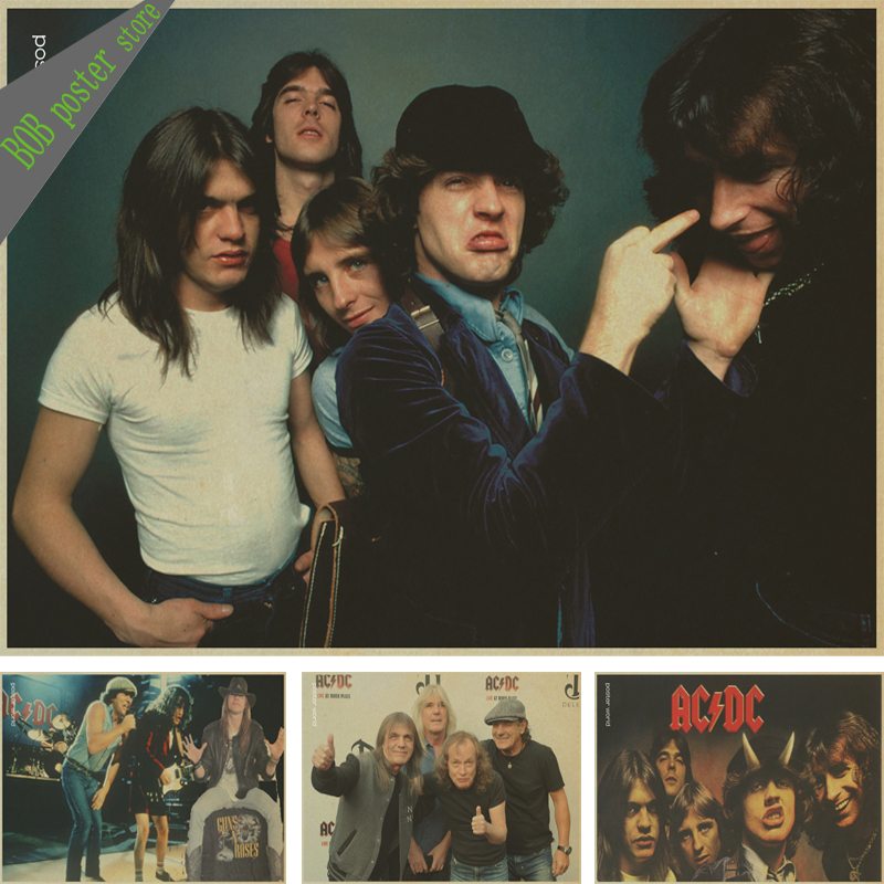 Acdc Font Free >> Popular Rock Band Poster-Buy Cheap Rock Band Poster lots from China Rock Band Poster suppliers ...