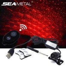Атмосферное освещение автомобиля окружающей среды лампы для стайлинга автомобилей подкладке USB светодиодный Звезда DJ RGB красочные музыкальные звуковые декоративные аксессуары