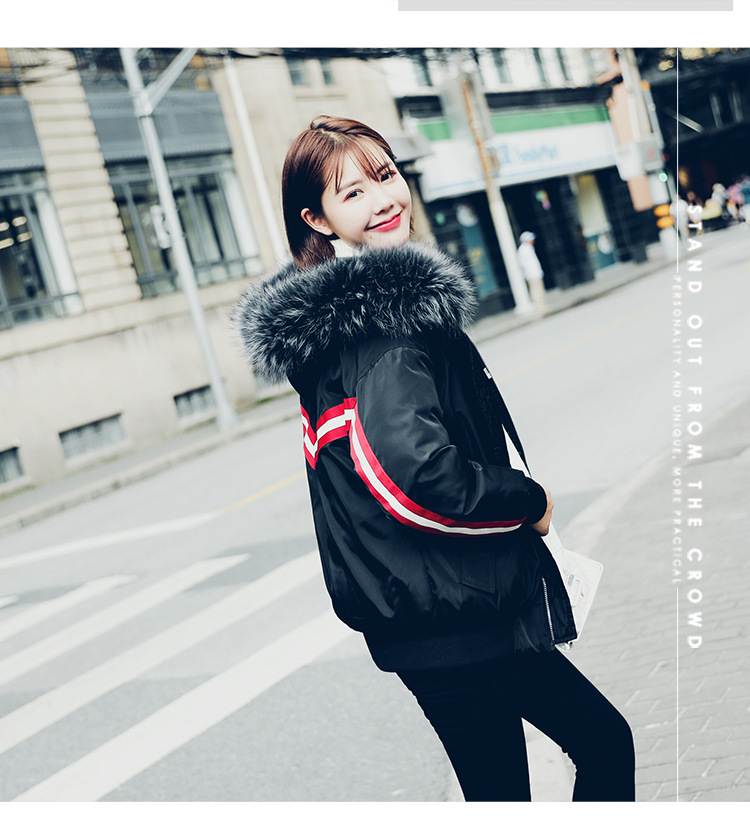 jaune Vêtements pourpre Punk Coton Beige Haiqiao Grand 2018 noir Col 90056 Femelle Plume Hiver New Laine La Flying Le Même Bas Vers Xu qFwBaC