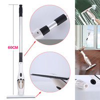 1 Pcs Glass Cleaning Brush Automatic Water Absorbing Glass Household Telescopic Rod Cleaning Window Tool Home Decor 35MR20