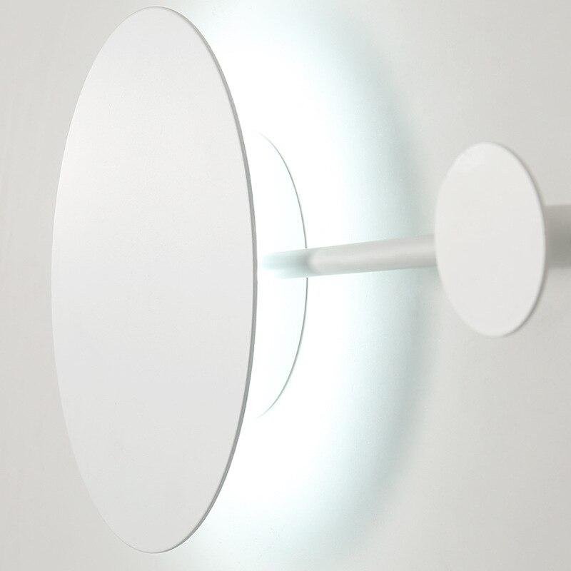 Lámpara de pared moderna para la pared del hogar Luz de dormitorio decoración colgante de iluminación interior soporte de suspensión de diseño creativo - 5