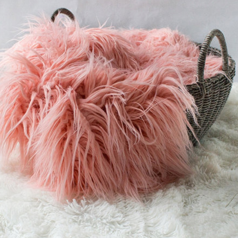 Aliexpress.com : Buy Newborn Infant Baby Soft Faux Fur Rug