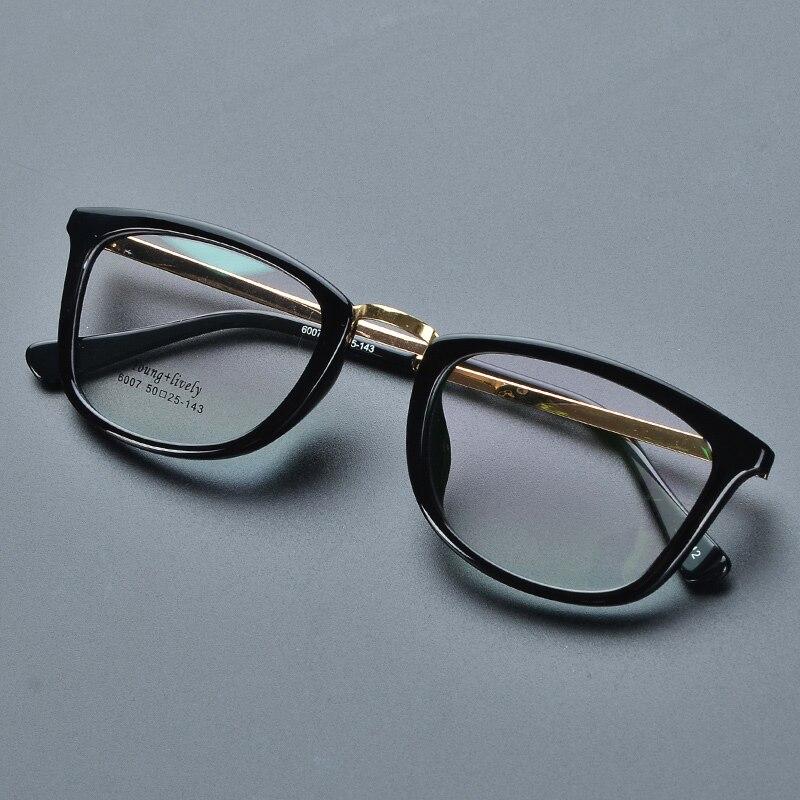 2017 Nové optické čiré zrcadlo Celoobvodové rámy Studentské brýle Rámy Muži Ženy plastové brýle Brýle Rám pro Myopia oculos de grau