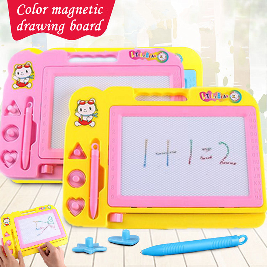1PCS 20*27cm Magnetic Drawing Board Drawing Toys Doodle Writing Painting Graffiti Art Kids Children Educational Toys Sketch Pad