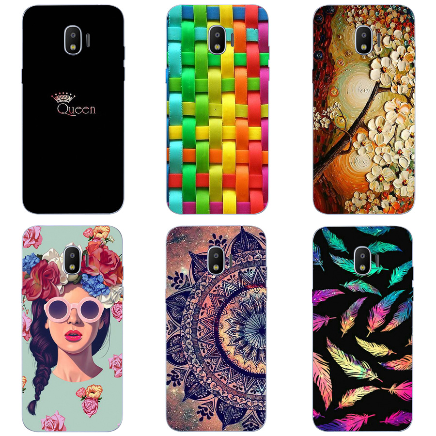 half off f41be 9bd9b US $1.78 |For Samsung Galaxy Grand Prime Pro 2018 Case Patterned Soft TPU  Silicon Back Cover For Samsung Grand Prime Pro 2018 J250 Coque-in Fitted ...