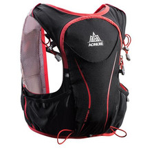 AONIJIE 5L Outdoor Running Bag Marathon Hydration Vest Backpack Lightweight Hiking Cycling Riding Race