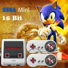 NEW Arrival 16 bit Mini TV Handheld Retro Classic Console Video Game Console With 167 Classic SEGA Games PAL/NTSC
