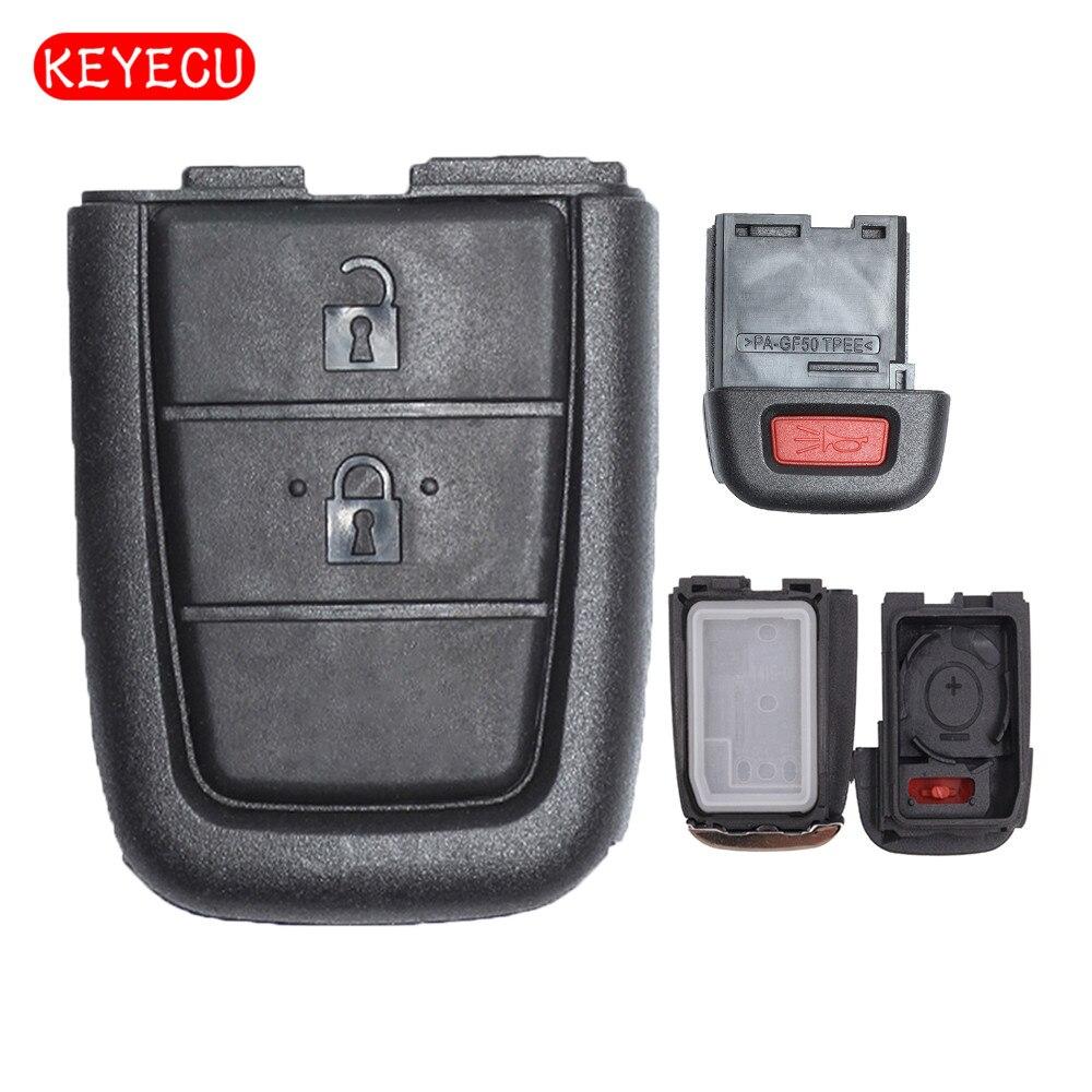 Keyecu удаленный ключевой чехол 2 + 1 кнопка для Pontiac G8/Holden VE COMMODORE Omega Берлина Кале SS SV6 ВПГ GTS