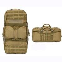 תיק צבאי חיצוני הסוואה עמיד למים צבא טקטי תרמיל Molle חבילת תרמיל ציד ספורט טיולי קמפינג תיק כתף
