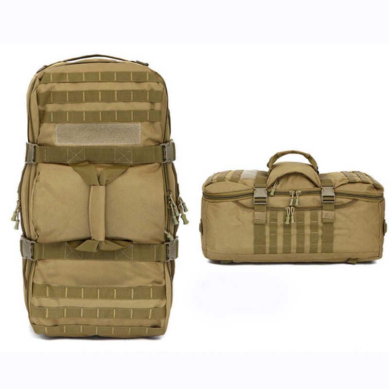 Tas Tentara Militer Taktis Backpack Molle luar Tahan Air Kamuflase Rucksack Pack Berburu Olahraga Hiking Camping Shoulder Bag