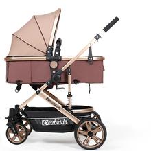 Baby Stroller 2 in 1 Baby Stroller Light Weight High Landscape Baby Pram Baby Pushchair