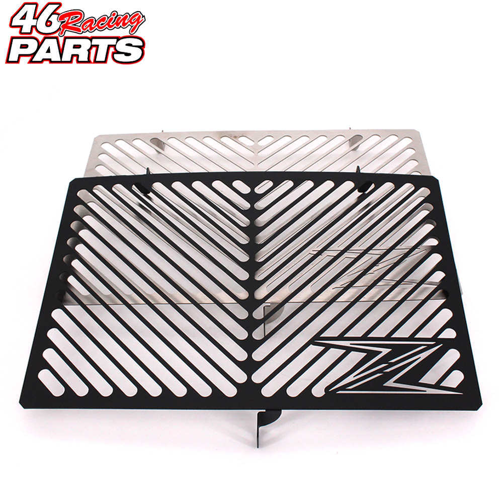 Black Motorcycle Accessories Radiator Guard Protector Grille Grill Cover For Kawasaki Z750 Z800 Z1000 Z1000SX Free shipping