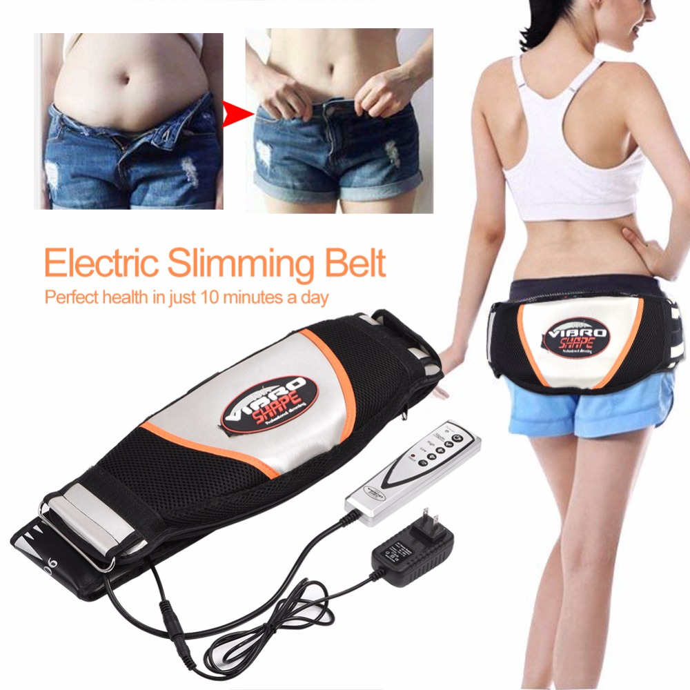 Electric Vibrating Massager Fat Burner Waist Belt Body Slimming Shaper Full Body Weight Loss Belt Anti Cellulite Massage Machine цена
