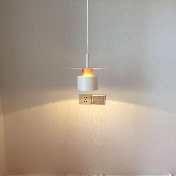 北欧モダンカラフルな木製ペンダントランプレストランコーヒーバーダイニングルームのベッドルーム E27 ペンダントライトの装飾 - Shop4367008 Store