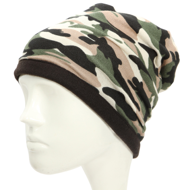 Outdoor Camouflage Men Hat Cap Hiking Cycling Fishing NeckScarf Windproof Camouflage Face Mask Neck Scarves Wraps Headw in Cycling Face Mask from Sports Entertainment