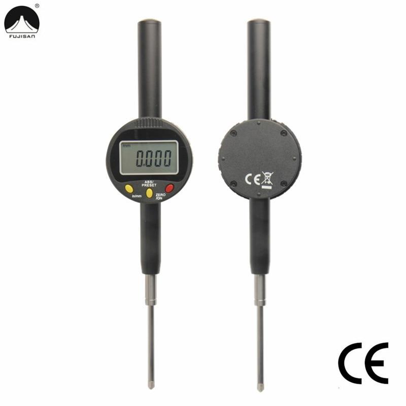 FUJISAN Digital Indicators 0 50mm 0 001mm Dial Test Indicators MM Inch Digital Gauge Micrometer Gauge