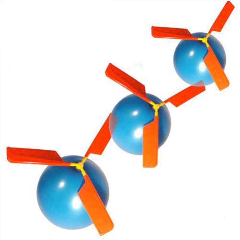 Helicóptero Aeronave Balão de Látex Balão Clássico abilit prático das crianças Aeronaves Voando Brinquedo Evento & Fontes Do Partido Criança