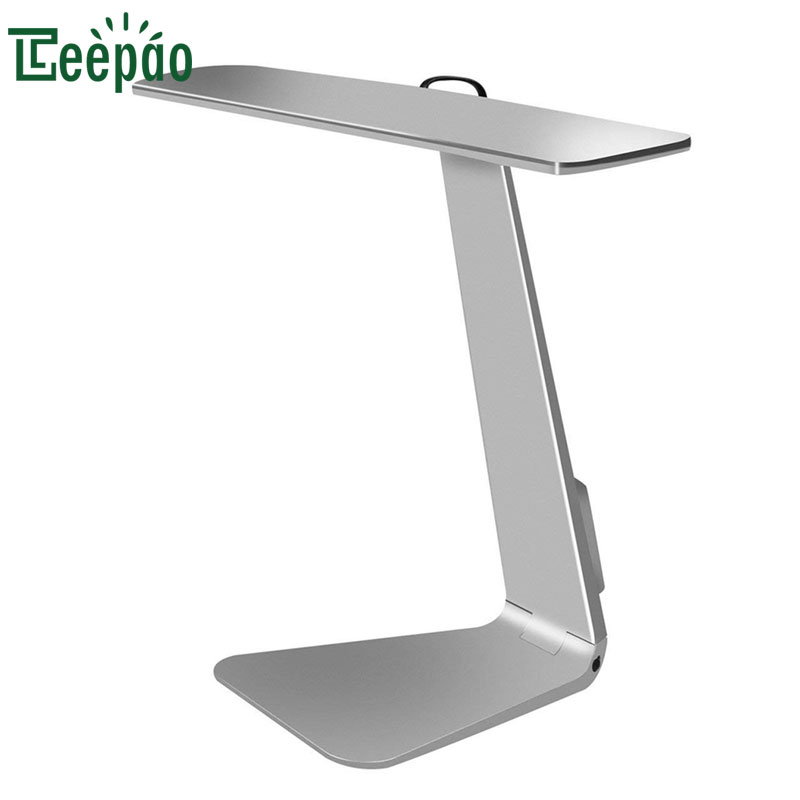цена Ultra-thin Mac Style 200lm Led 3 Mode Dimming Touch Switch Reading Lamp Built-in Battery Table Lamp Soft Desk Light Night Light
