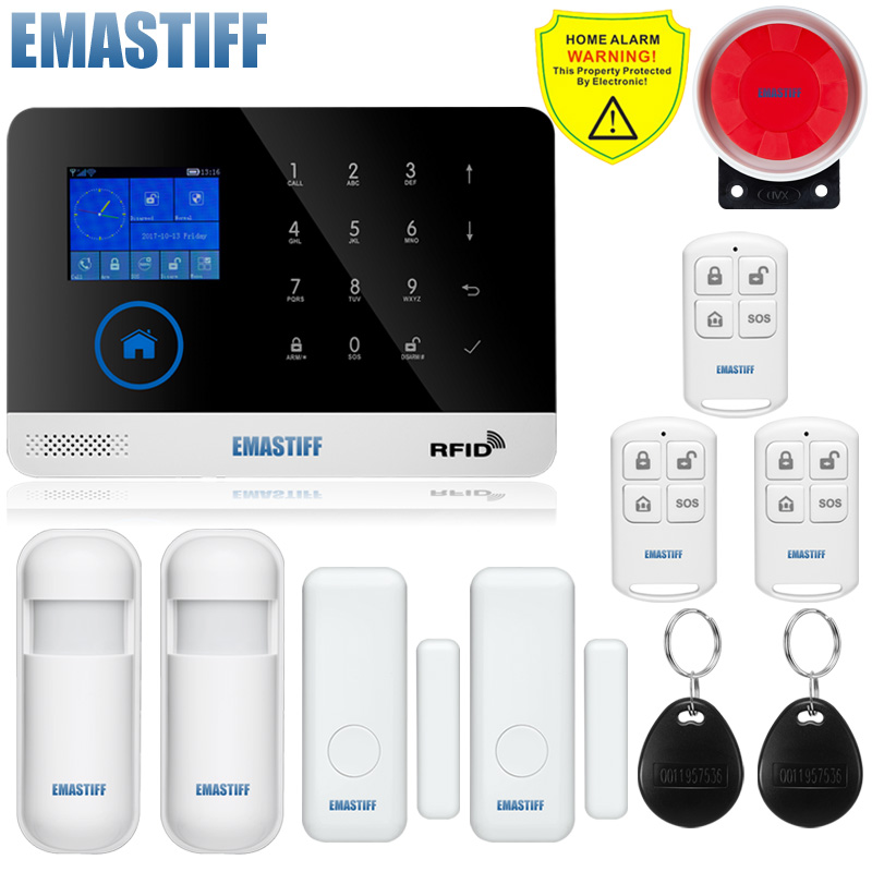 Free shipping.WIFI Gsm Touch Keypad Alarm System WIFI+GSM Wifi Automation GSM Alarm System Home Protection WIFI GSM Alarm System купить в киеве gsm прослушку