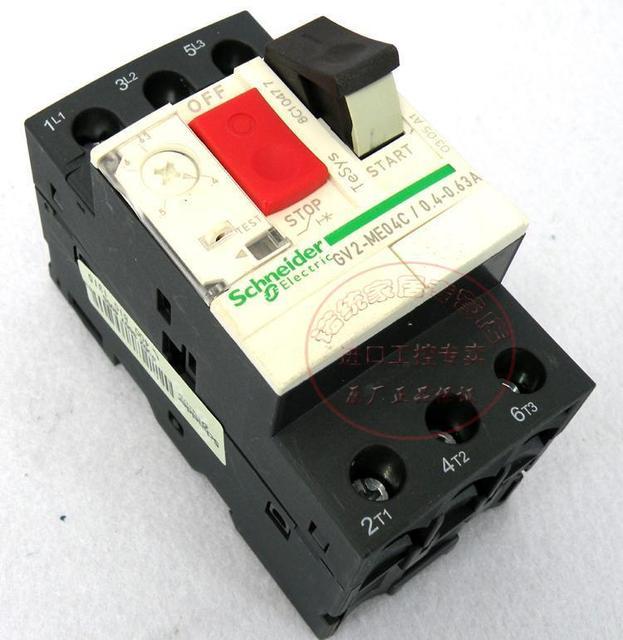Origin Schneider (Shanghai) motor circuit breakers GV2 ME04C ...