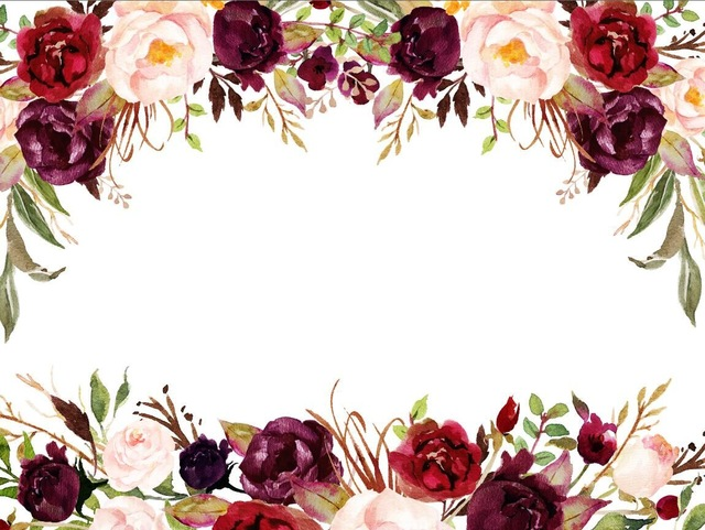7x5ft White Red Burgundy Flowers Branch White Wall Custom