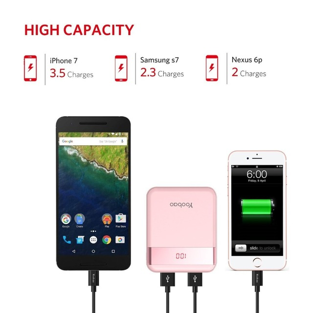 Mini Colorful Mobile Power Bank  3