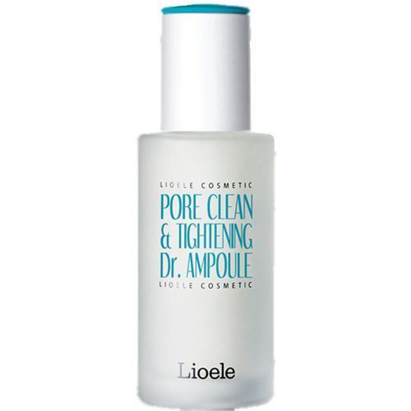 LIOELE Pore Clean & Tightening Dr. Ampoule 35g Facial Serum Blackhead Remover Sebum Acne Pore Cleaner Face Cream Korean Cosmetic lioele les lioele 4 5ml